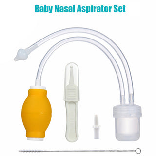 Baby Nasal Aspirator Set Baby Care Products Anti-backwash Device Vacuum Suction For Newborns, Toddlers, Infants, Kids