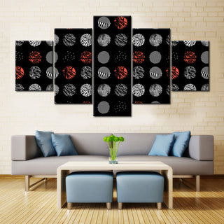 Twenty One Pilots Blurryface Logos - 5 Pieces Canvas
