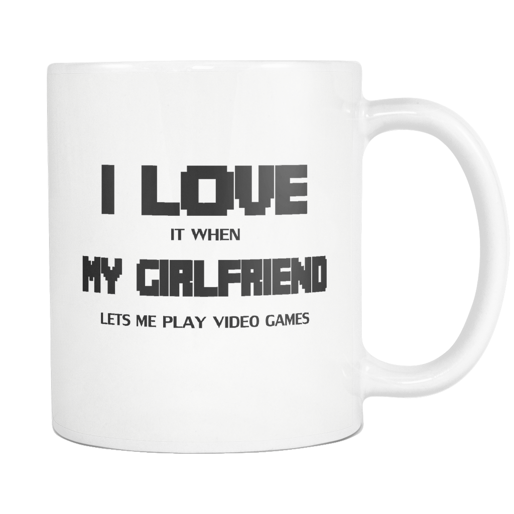 Video Games Mug, I Love It When, Boyfriend Gift, Anniversary Gifts for Boyfriend, Valentine Gift, Geek Gifts 2018, Gamer Husband, Fiance
