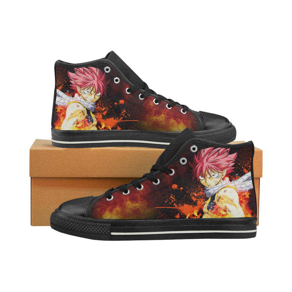 Fairy Tail Natsu - Canvas Shoes