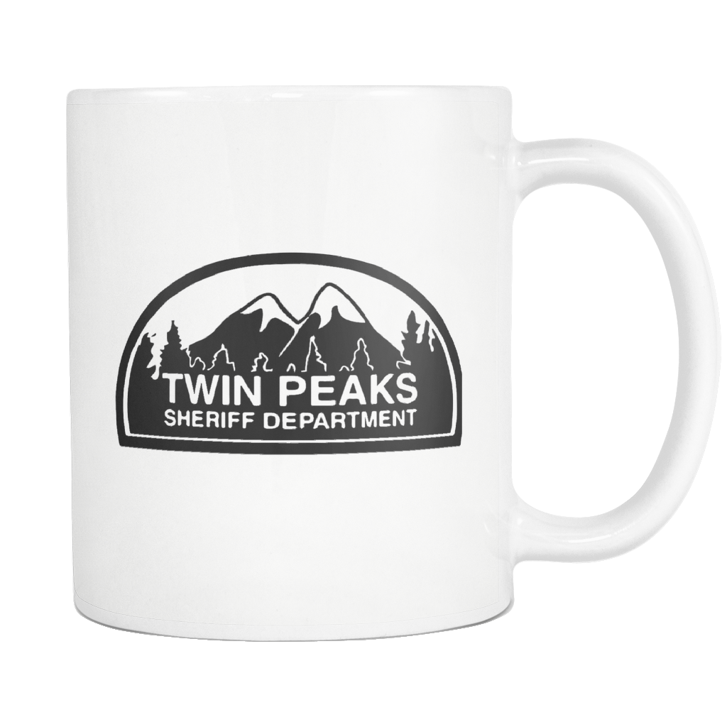 Twin Peaks Mug, Twin Peaks Gift, Twin Peaks Print, David Lynch, Dale Cooper, Laura Palmer, Black Lodge, Fire Walk With Me, Agent Cooper