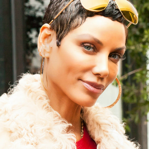 nicole murphy super bowl party