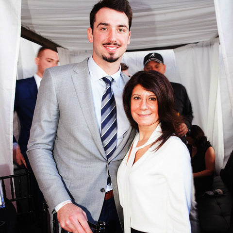 paxton lynch elaine kunda super bowl party