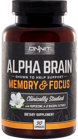 Alpha Brain Bottle Image