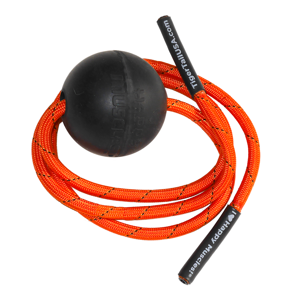 Tiger Ball Massage-On-The-Rope