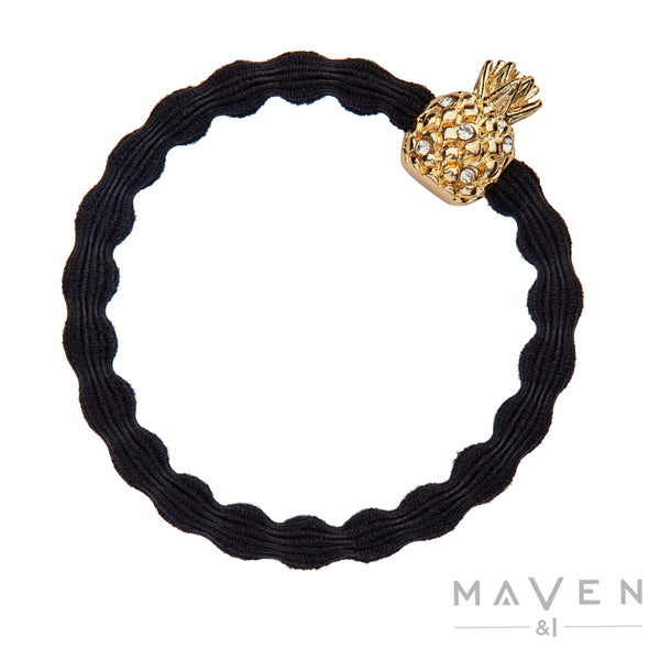 Pineapple | Black Bangle Band