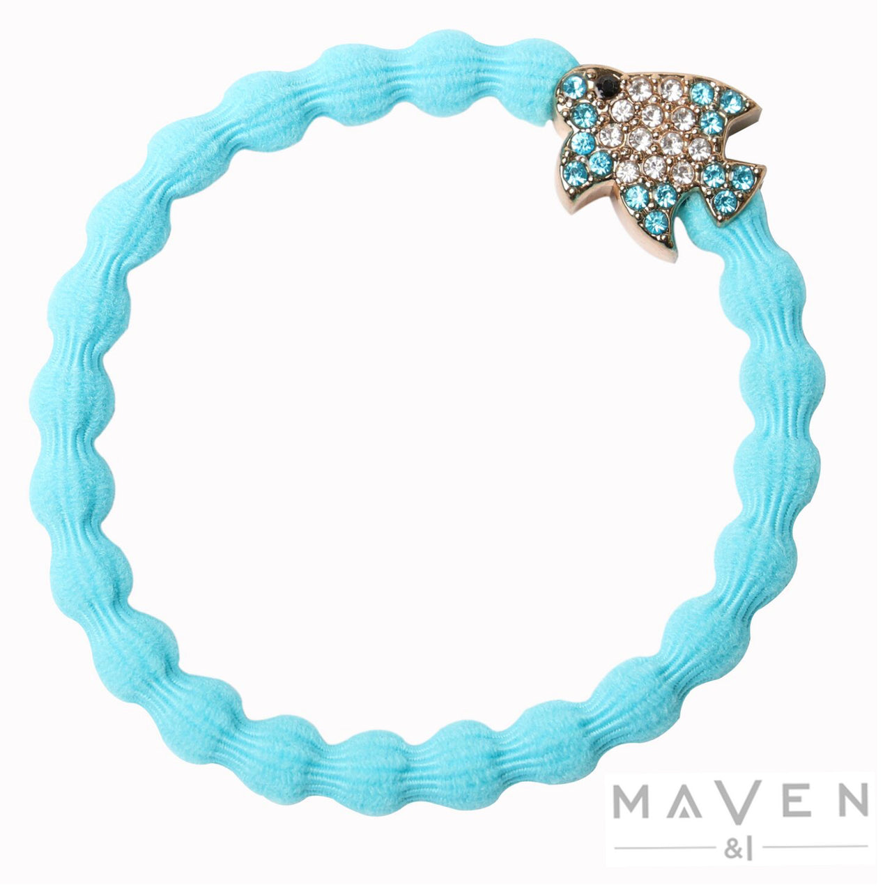 Tropical Fish | Neon Blue Bangle Band