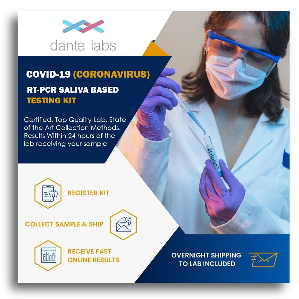 COVID-19 (Coronavirus) Infection RT-PCR Saliva Based Test - Dante Labs
