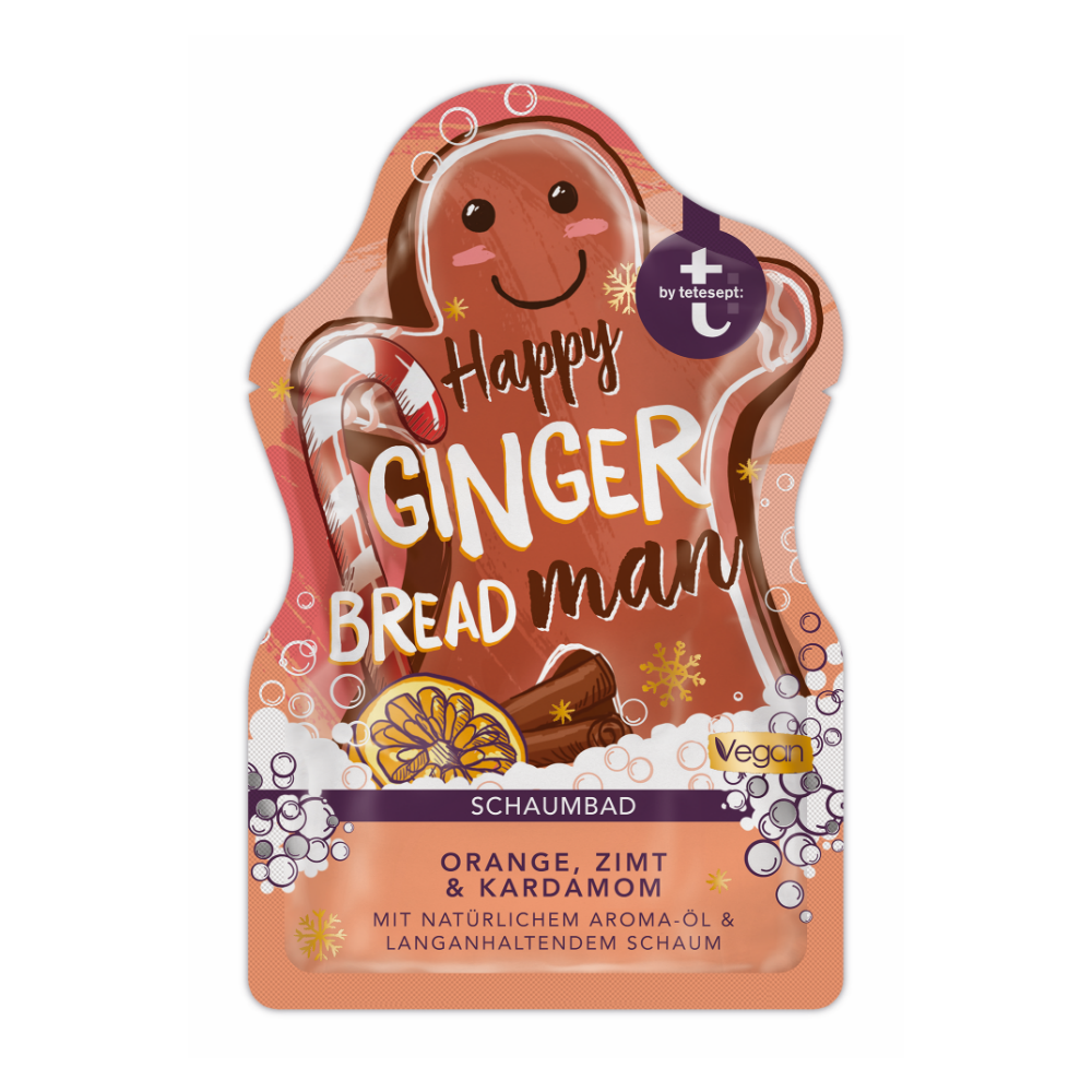 PENA DO KÚPEĽA - Happy GingerBread Man