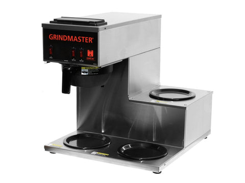 Grindmaster CPO-3RP-15A Pourover with Side Warmers