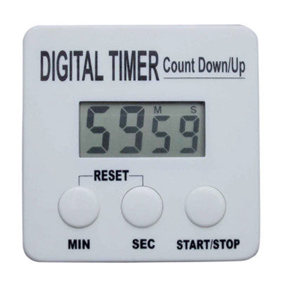 "Clip-On Timer to Calibrate Your Espresso Shots (2-5/8"" square)"
