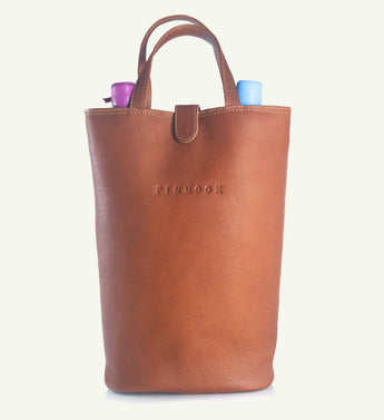 Pinhook Leather Carrier