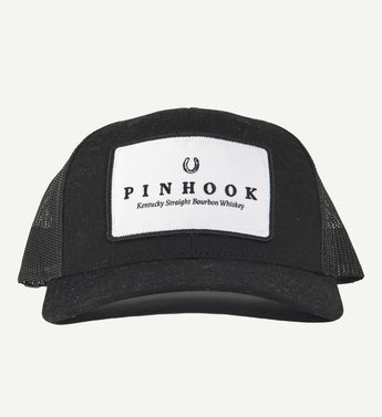 Pinhook Black Patch Hat
