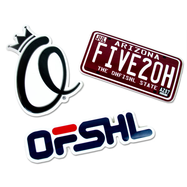 The Ohfishl Sticker Pack