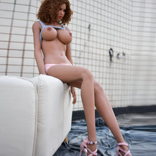 Load image into Gallery viewer, RENEE: 5ft 5in (165cm) Realistic Ebony Love Doll