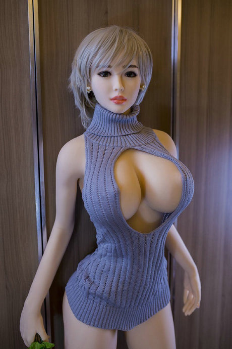 BRIANNA: Big Boob Sex Doll 5ft 2in (158cm). In Stock - Brown skin