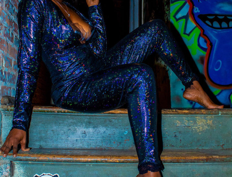 Holographic Jumpsuit