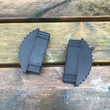 Non Slip Articulating Rubber Feet (Pair)