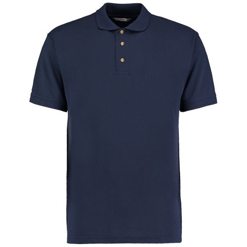 KK400 Navy Polo in Large