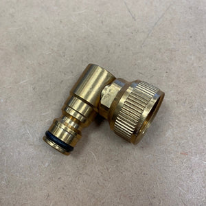 Brass Swivel Inlet Quick Connector 3/4inch F