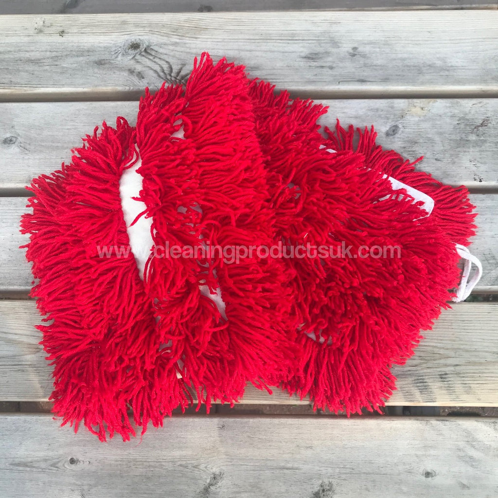 80cm Dust Beater Mop Head Red-Cleaning Products UK-Cleaning Products UK