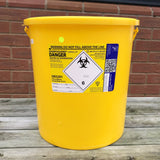 0.25ltr Sharps Disposal Containers - Needle Bin - Sharps Box