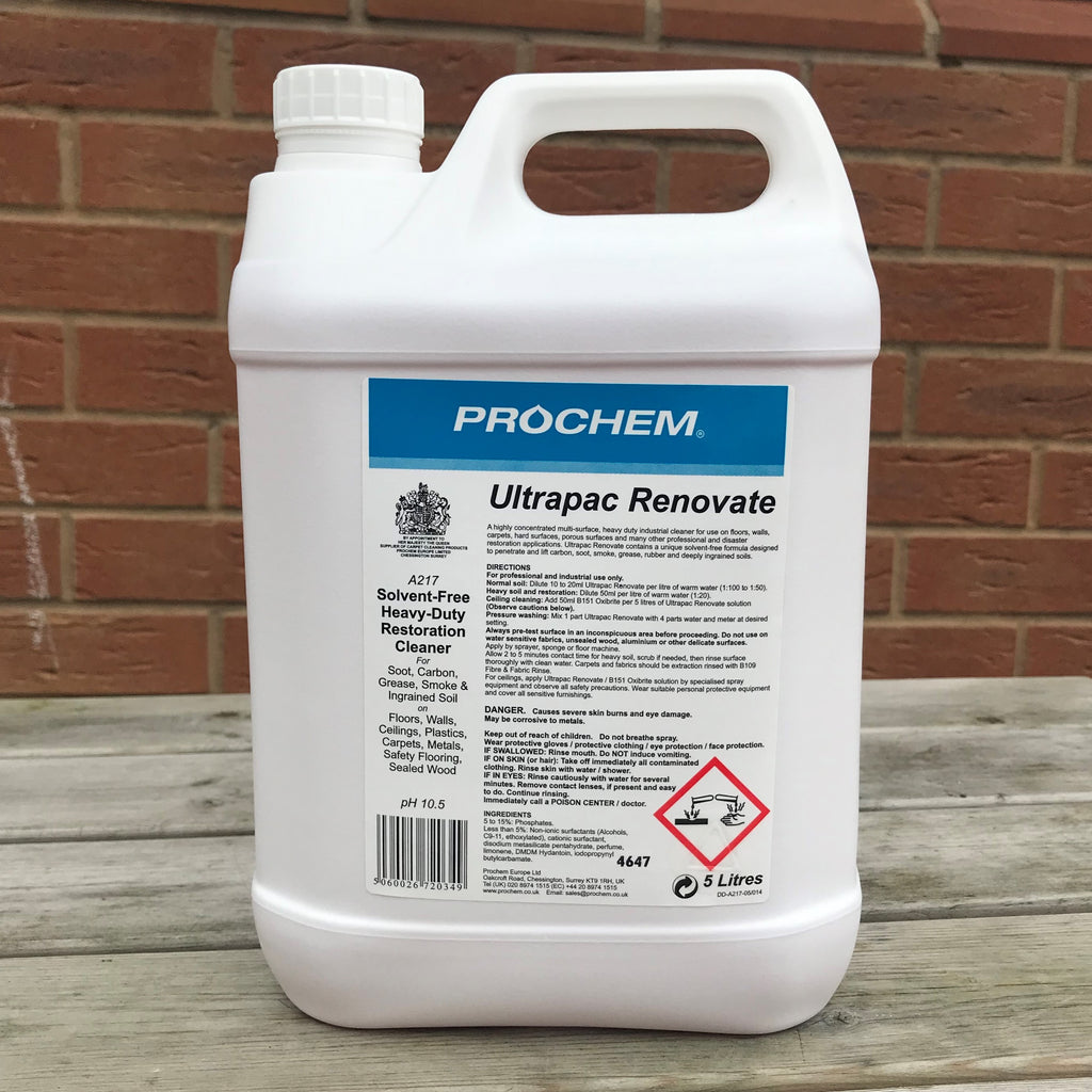 Ultrapac 5ltr - Soot Cleaner