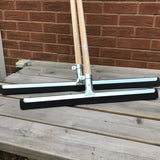 "24"" Straight  Floor Squeegee with handle"