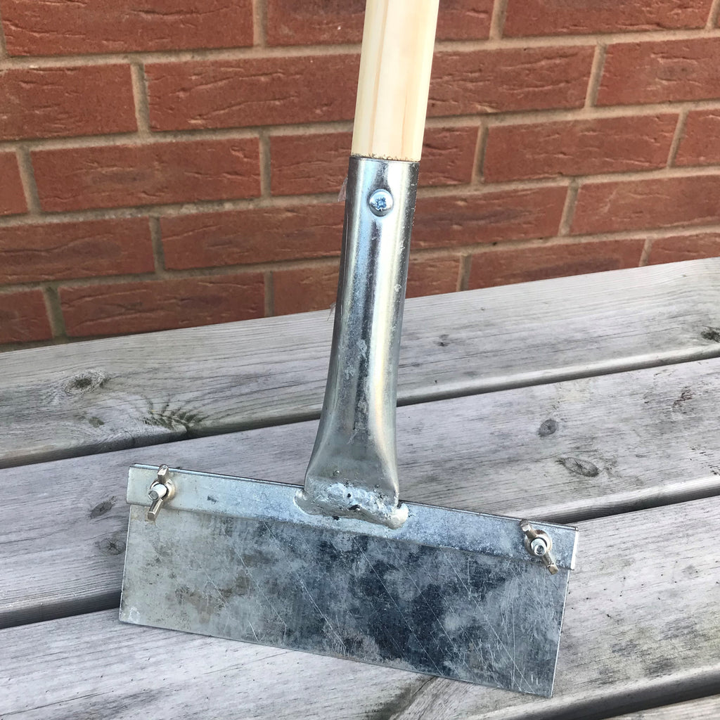 Floor Scraper with Wooden Handle