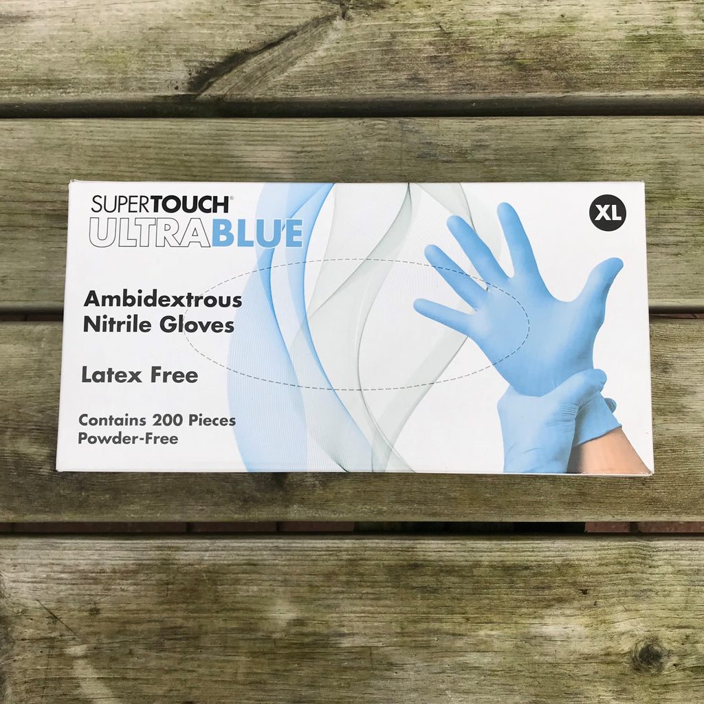 Xlarge Nitrile Gloves - Box of 100 Gloves