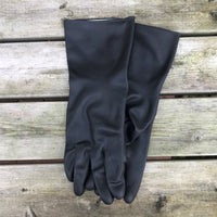 Medium Heavy Duty Black Marigold Gloves