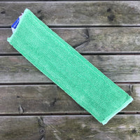 Green Flat Mop Head