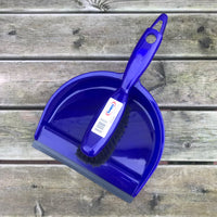 Soft Dustpan & Brush - Various Colours