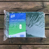 Green Scourers PK 10 (Scouring Pad)