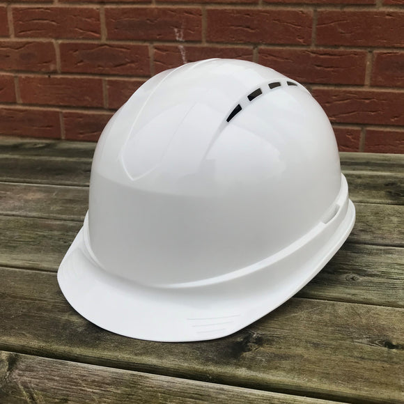 Safety Helmet (ST-50) White W/ Sweatband
