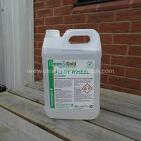 Alloy Wheel Cleaner 5ltr-Clover Chemicals-Cleaning Products UK