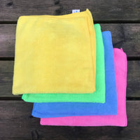 Microfibre Towel - Various Colours