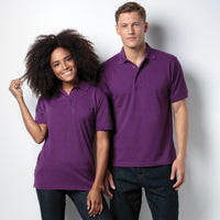 KK403 Ladies Purple Polo Shirt in Medium