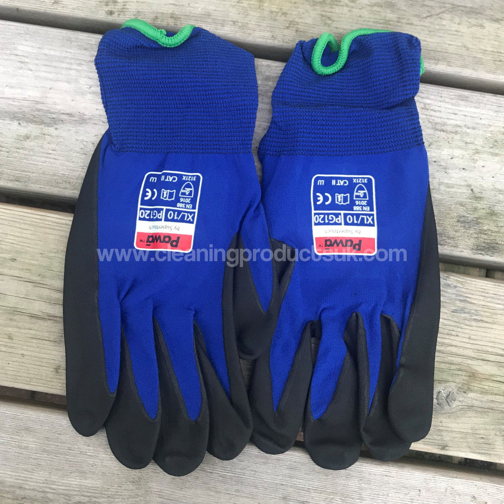 PG120 18Gauge Blue Cut 1 Gloves Xlarge-Cleaning Products UK-Cleaning Products UK