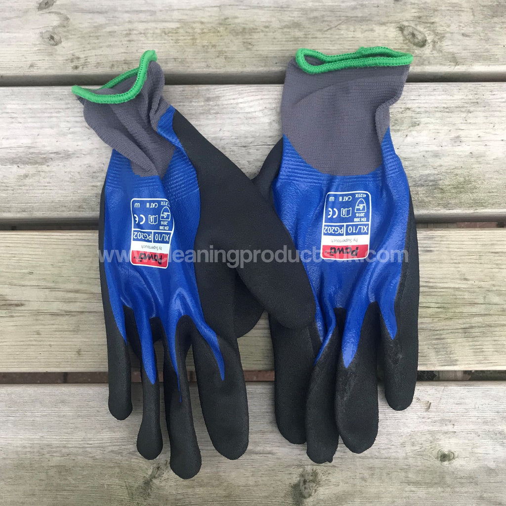 PG202 Fully Coated Cut 1 Gloves Xlarge-Cleaning Products UK-Cleaning Products UK