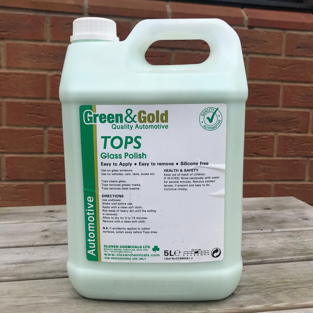 Tops Glass Polish 5ltr