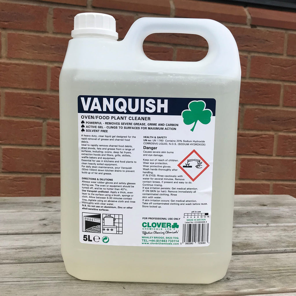 Vanquish Heavy Duty Oven Cleaner 5ltr