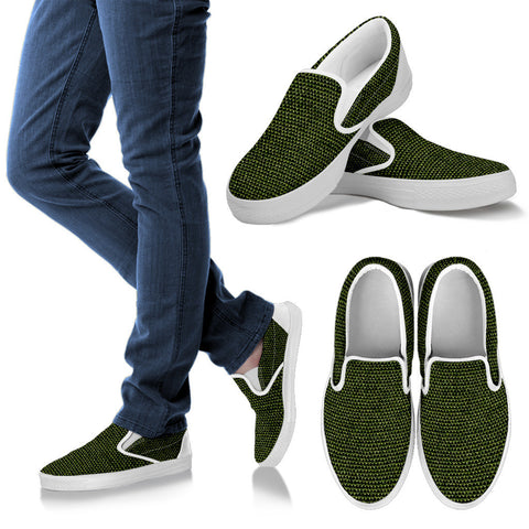 Slip on canvas shoe-men