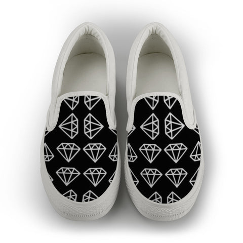 Slip on canvas shoes-Women