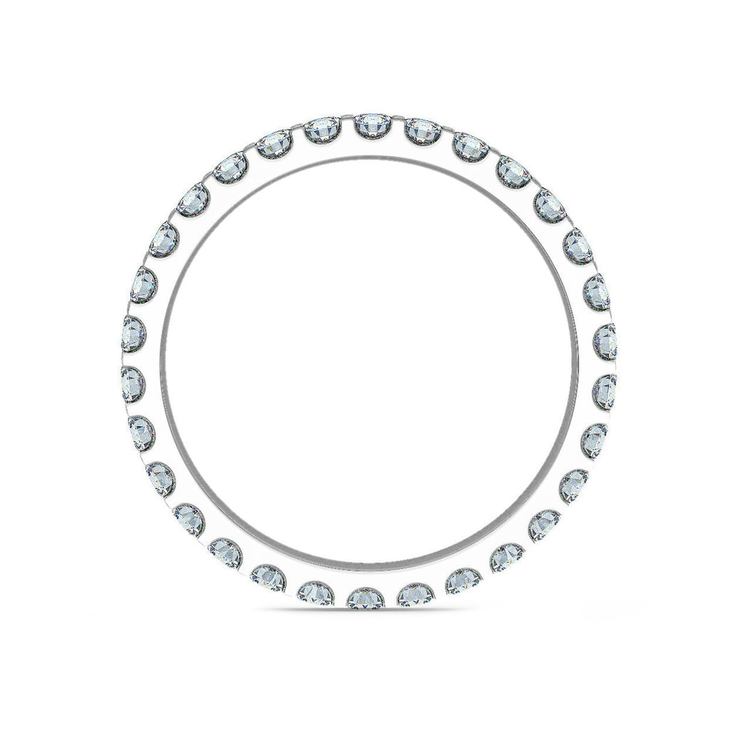 Micro Claw Set 2mm Full Eternity Ring