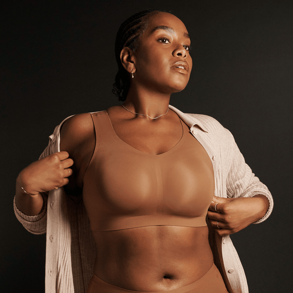 All Color: Clay | brown dark nude seamless wireless bra