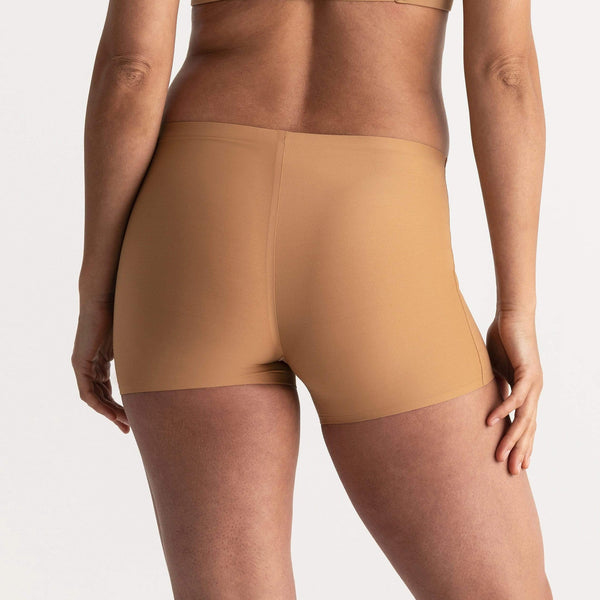 All Color: Mica | nude tan boyshorts underwear