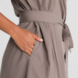 All Color: Stone | gray tie robe