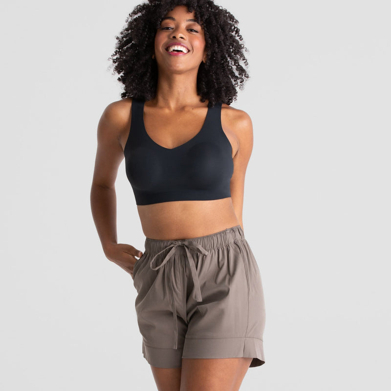 All Color: Stone | gray drawstring shorts