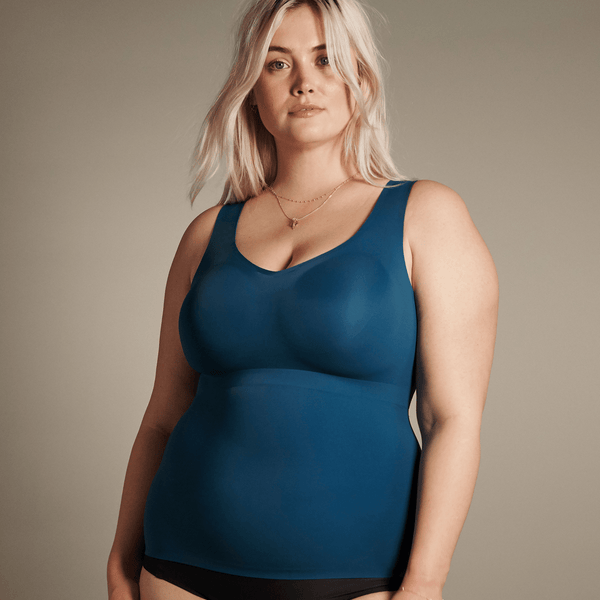 All Color: Lagoon | teal seamless wireless tank
